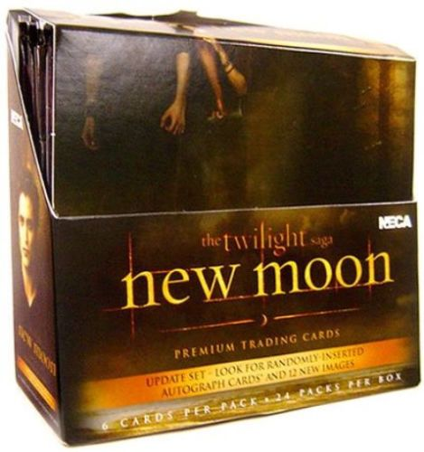 NECA Twilight New Moon Update Trading Cards Box