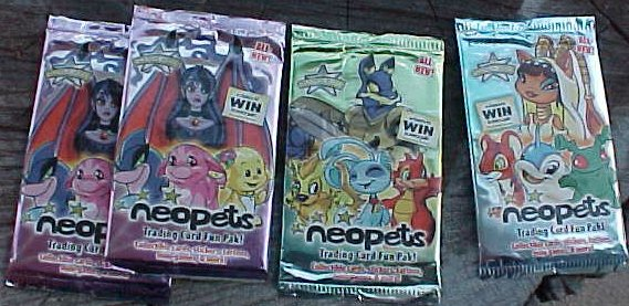 Neopets Enterplay Fun Packs Lot of 24 Trading Card Packs
