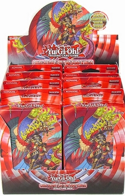 Yu-Gi-Oh! Onslaught of the Fire Kings Structure Deck Display Box
