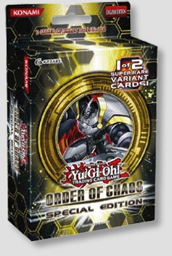 Yu-Gi-Oh! Order of Chaos Special Edition Display Box