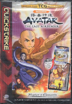 Avatar CCG Lot of 24 Booster Packs Plus Starter Deck