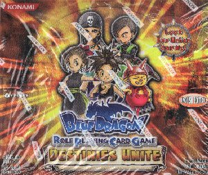 Blue Dragon RPCG Destinies Unite & Heroes Arise Booster Boxes + 2 Starter Decks Lot