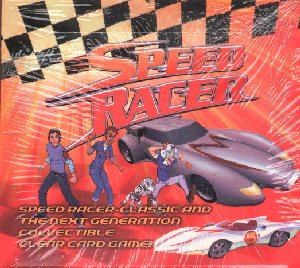Speed Racer CCG Booster Box
