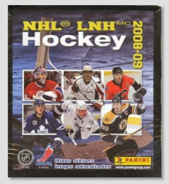 2008/09 Panini NHL Hockey Stickers Sealed Box