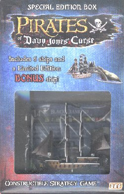 Pirates of Davy Jones Curse Special Edition Black Diamond Box
