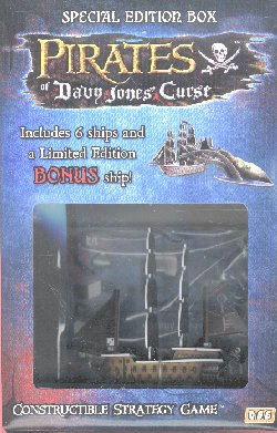 Pirates of Davy Jones Curse Special Edition Broken Key Box