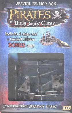 Pirates of Davy Jones Curse Special Edition Nightmare Box