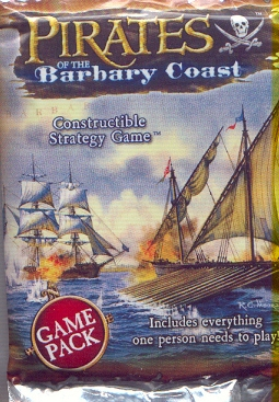 Pirates of the Barbary Coast Lot of 9 Booster Packs