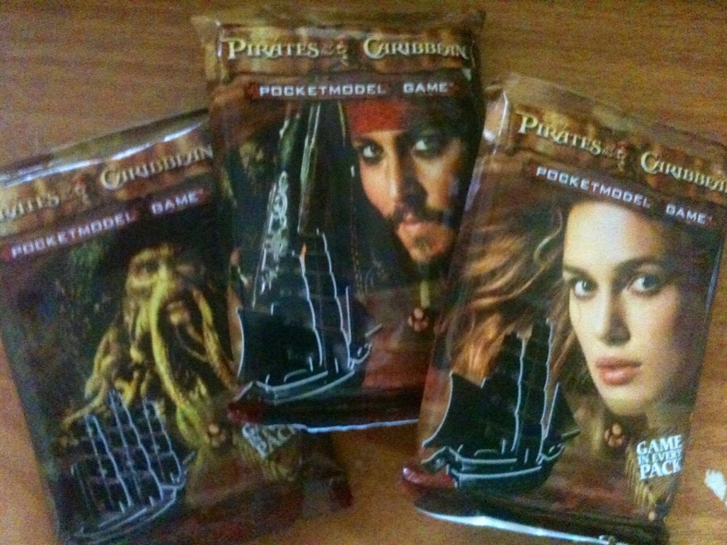 Pirates of the Caribbean Lot of 36 Booster Packs