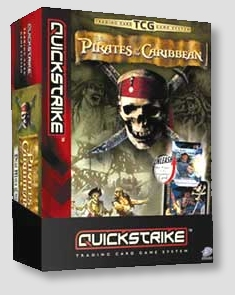 Pirates of the Caribbean TCG Lot of 24 Booster Packs + Starter