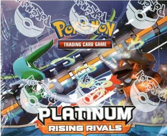 Pokemon Platinum Rising RivalsTheme Box