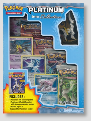 Pokemon Platinum Series Collection Box