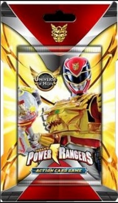 Bandai Power Rangers CCG Universe of Hope Booster Pack