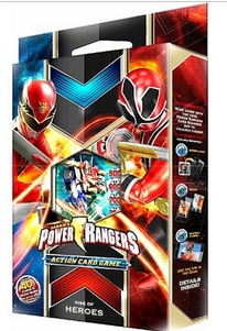 Bandai Power Rangers CCG Rise of Heroes 2-Player Starter Deck