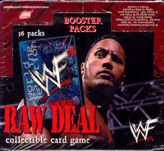 WWE Raw Deal Base Set Booster Box