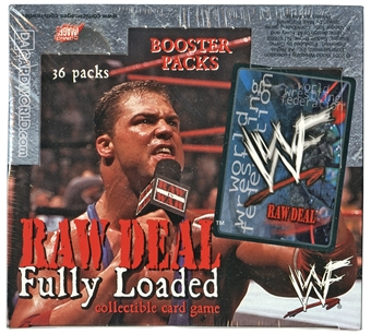 WWE Raw Deal Fully Loaded Booster Box