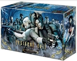 Resident Evil Alliance Deck Building Game