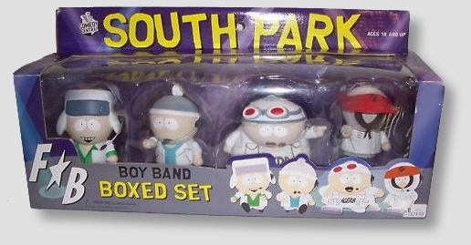 South Park Boy Band 4 Figure Box Set