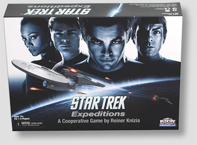 Star Trek Expeditions Cooperative Board Game