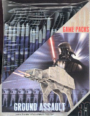 Star Wars PocketModel TCG Ground Assault Booster Box