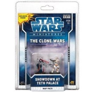 Star Wars Miniatures Map Pack 2 Showdown at Teth Palace
