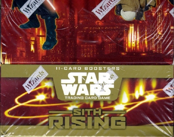 Star Wars WOTC Sith Rising Booster Box