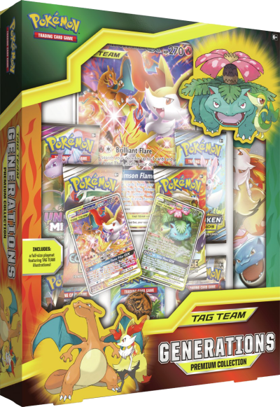 Pokemon TAG TEAM Generations Premium Collection