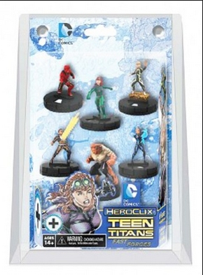 DC HeroClix Miniatures: Teen Titans 'The Ravagers' Fast Forces Pack