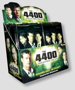 Inkworks The 4400 Season 1Trading Cards HOBBY Box