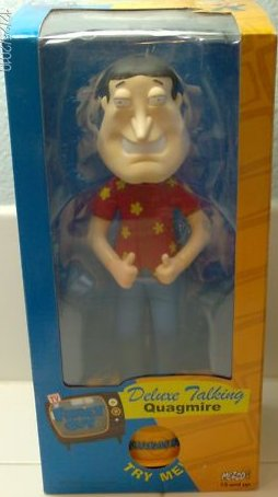 "Family Guy Deluxe Quagmire 8"" Talking Action Figure"