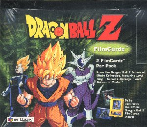 Artbox Dragonball Z Film Cardz Trading Cards Box