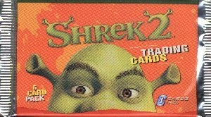 Shrek 2 Movie Trading Cards Pack