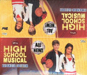Topps 2008 High School Musical Trading Cards Box