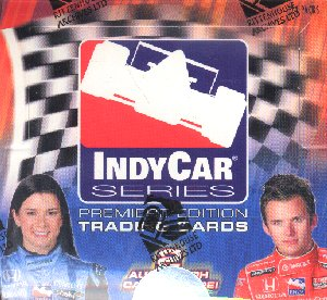 Indy Racing 2007 Premiere Edition Trading Cards Box