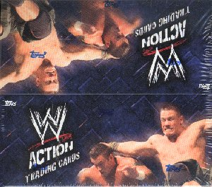 Topps WWE Action Trading Cards Box