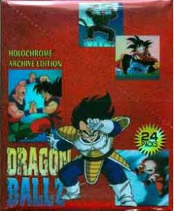 Artbox Dragonball Z Holochrome Archives Trading Cards Box