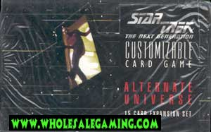 Star Trek Alternate Universe Limited Booster Box