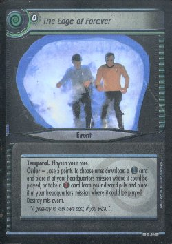 Star Trek 2nd Edition The Edge of Forever 0P32 Foil Promo Card