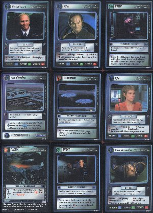 Star Trek Enterprise Collection 18 Foil Card Set