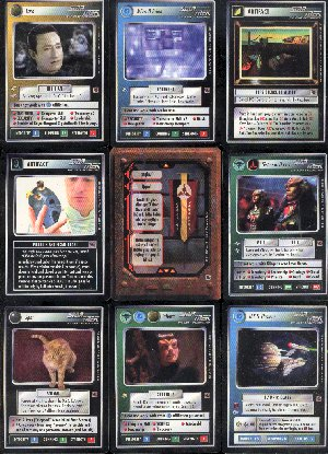 Star Trek Fajo Collection 18 Card Set Cards Only