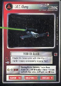 Star Trek Fajo Collection I K C Chang Card