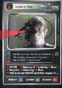 Star Trek Fajo Collection Locutus of Borg Card