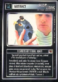 Star Trek Fajo Collection Picards Heart Card