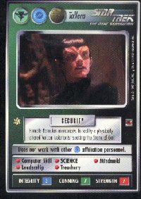 Star Trek Fajo Collection Tallera Card