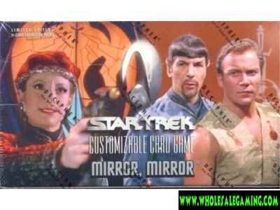 Star Trek Mirror Mirror 6 Booster Box Case