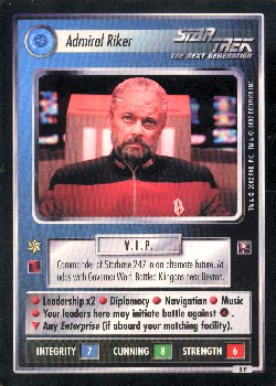 Star Trek Oversized Promo Card Set of 3