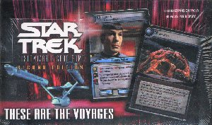 Star Trek 2nd Edition These Are The Voyages Booster Box