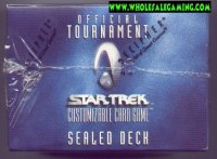 Star Trek Official Tournament 12 Sealed Decks Case