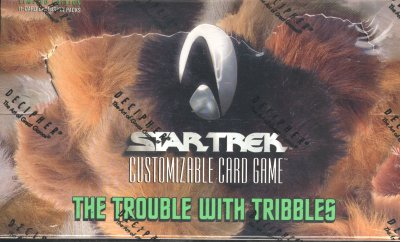 Star Trek Trouble With Tribbles 6 Booster Box Case