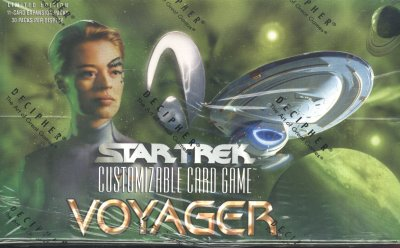 Star Trek Voyager Limited 6 Count Booster Box Case